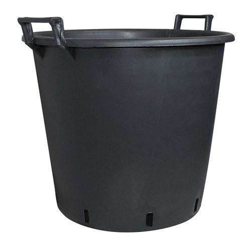Geli Pflanzgefäß / Pflanzcontainer mit Griff Ø 65 cm schwarz Bild 1