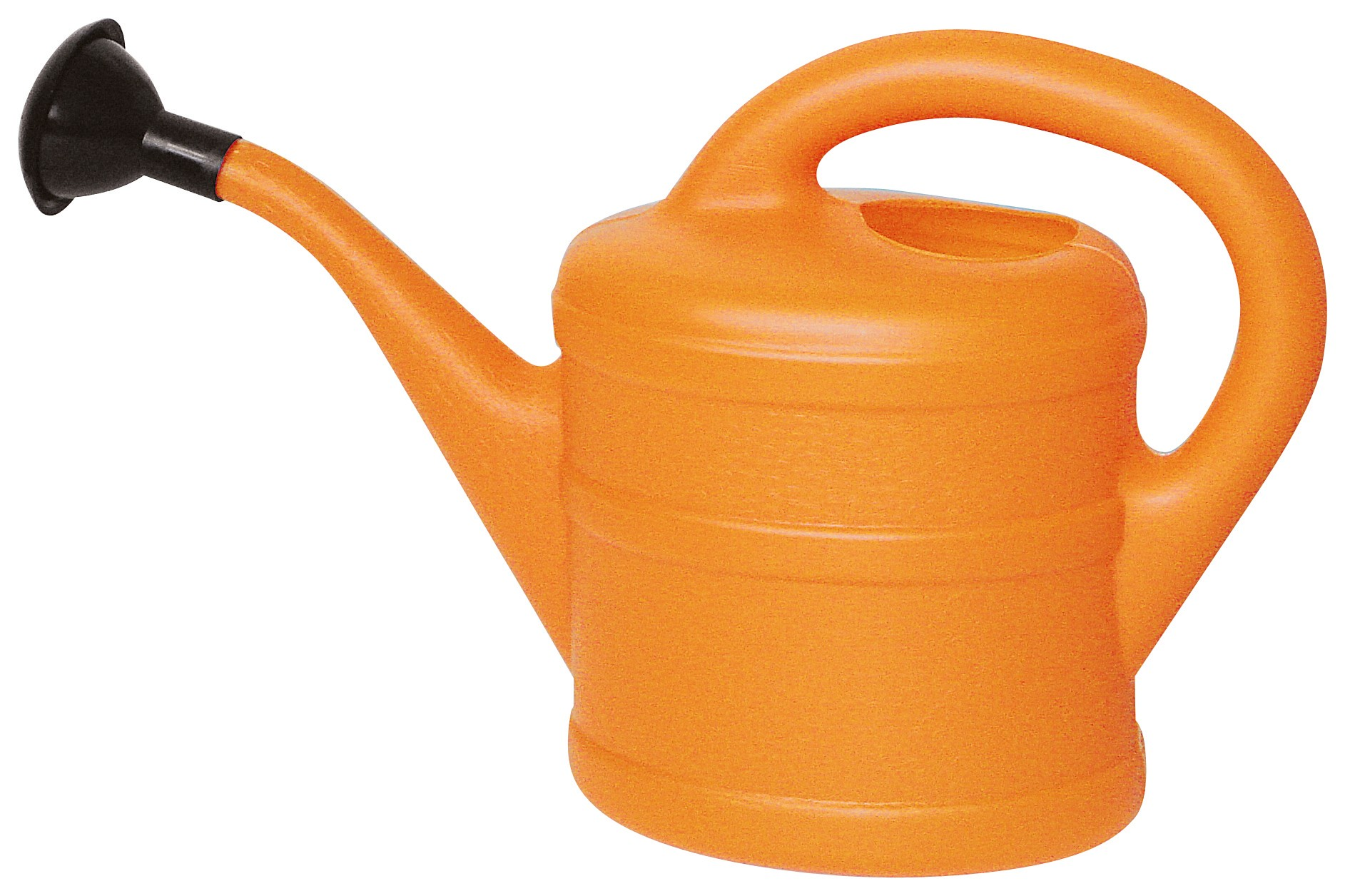 Gießkanne / Blumengießkanne 2 Liter orange Bild 1