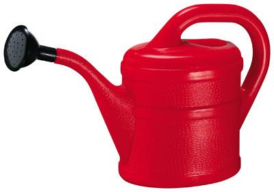 Gießkanne / Blumengießkanne 2 Liter rot Bild 1