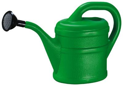 Gießkanne / Blumengießkanne 3 Liter grün Bild 1