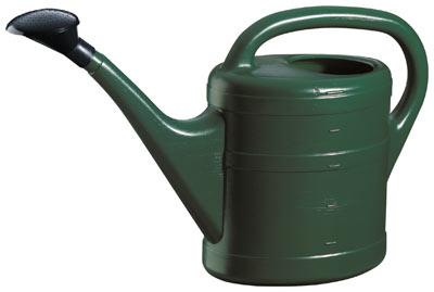Gießkanne / Gartengießkanne 5 Liter dunkelgrün Bild 1