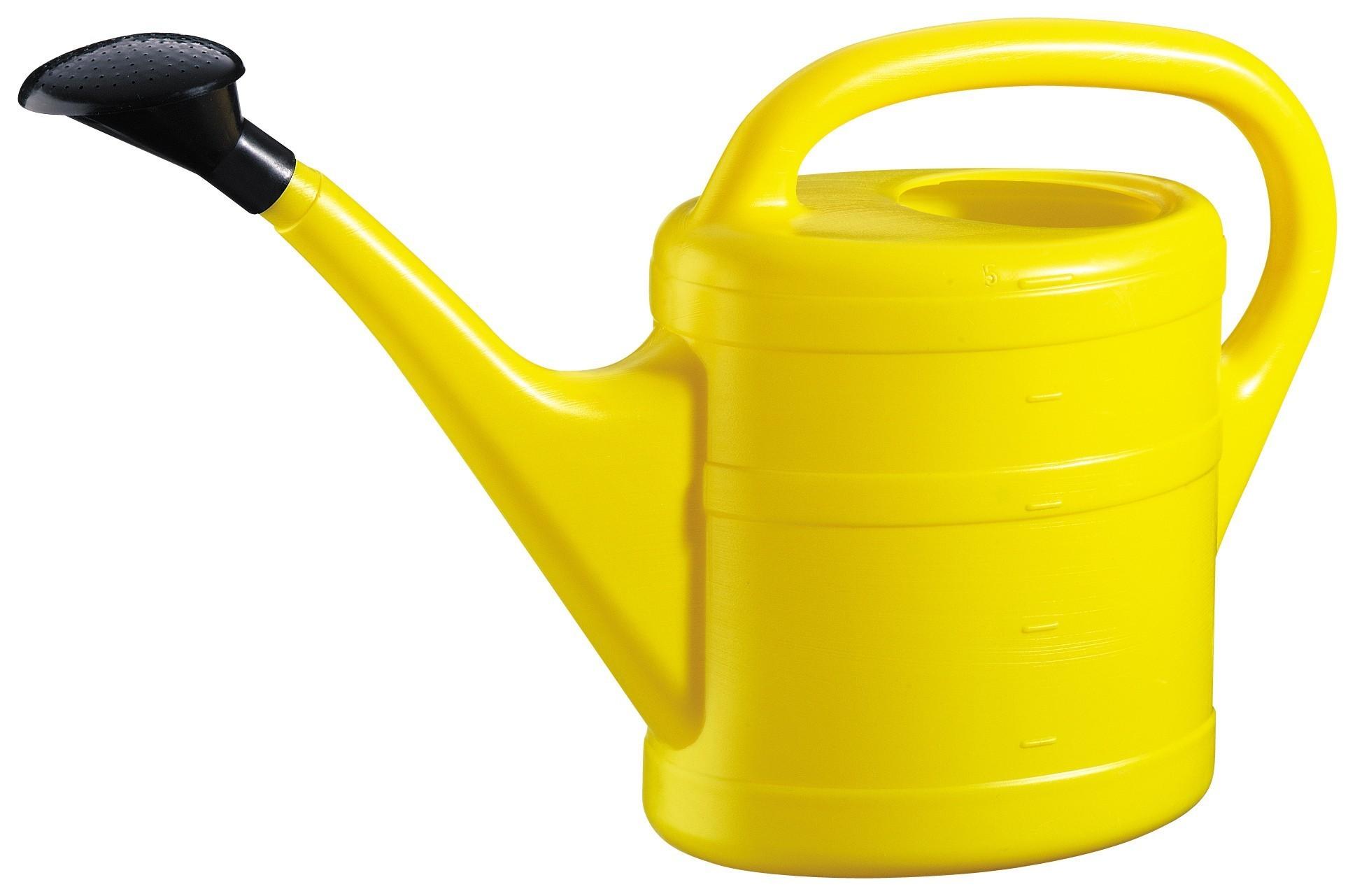 Gießkanne / Gartengießkanne 5 Liter gelb Bild 1