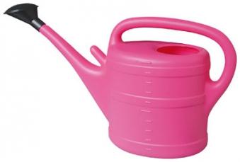 Gießkanne / Gartengießkanne 5 Liter pink Bild 1