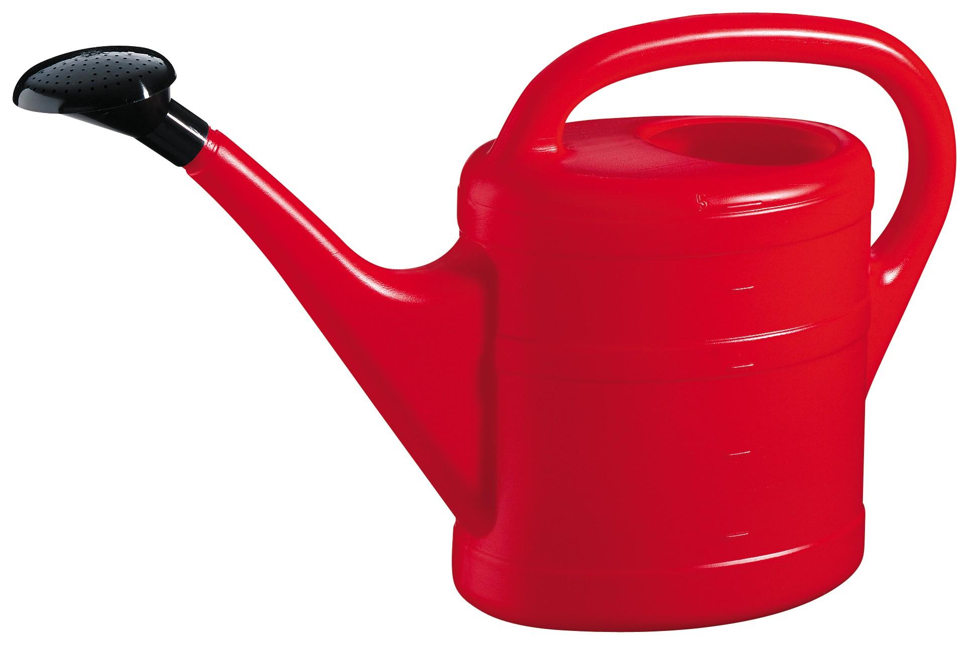 Gießkanne / Gartengießkanne 5 Liter rot Bild 1