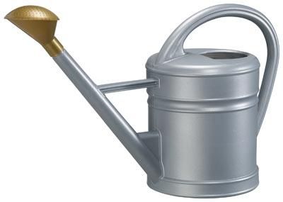 Gießkanne / Gartengießkanne Antiqua 10 Liter zinkfarben Bild 1