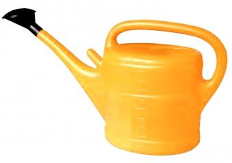Gießkanne / Gartengießkanne Geli 10 Liter orange Bild 1