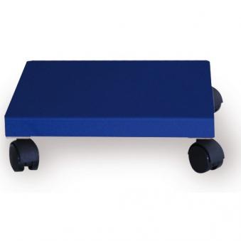 Pflanzenroller / Allzweckroller Holz blau 28,5x28,5cm Bild 1