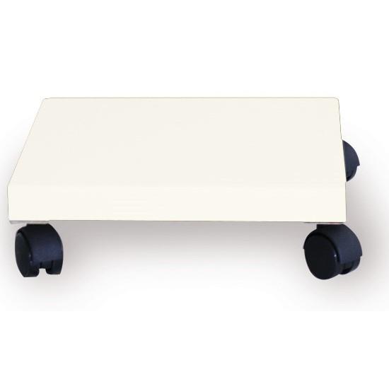 Pflanzenroller / Allzweckroller Holz weiß 28,5x28,5cm Bild 1