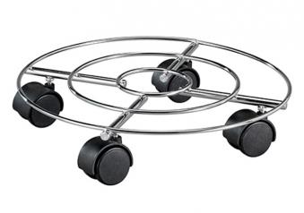 Wagner Pflanzenroller Multi Roller Draht fahrbar hart Ø35cm chrom Bild 1