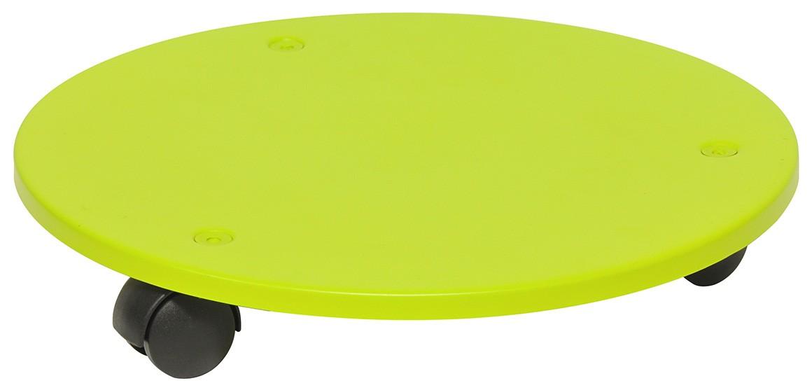 Wagner Pflanzenroller Multi Roller Stahl fahrbar Ø30cm grün Bild 1