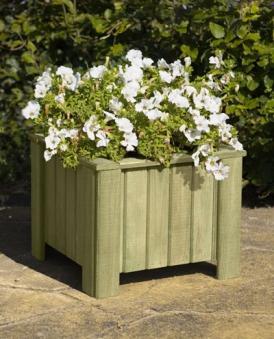 Blumenkübel /  Pflanzkübel Holz kdi 40x40x30cm Bild 1