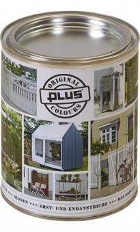 Holzlasur / Holzschutzlasur Colour Plus 0,75 Liter grau-braun