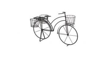 Pflanzenhalter Fahrrad / Blumen Fahrrad 78x42x54cm bronze Bild 1