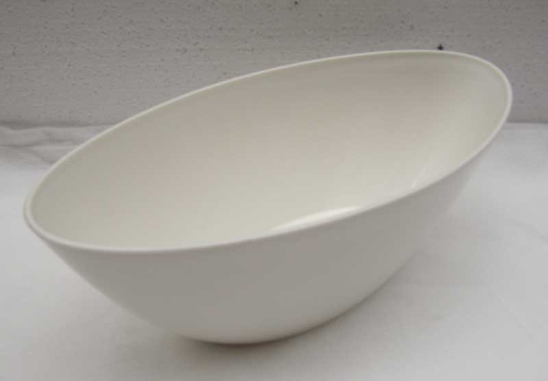 Blumentopf / Pflanztopf elho Brüssel Diamond oval 36cm weiß Bild 2