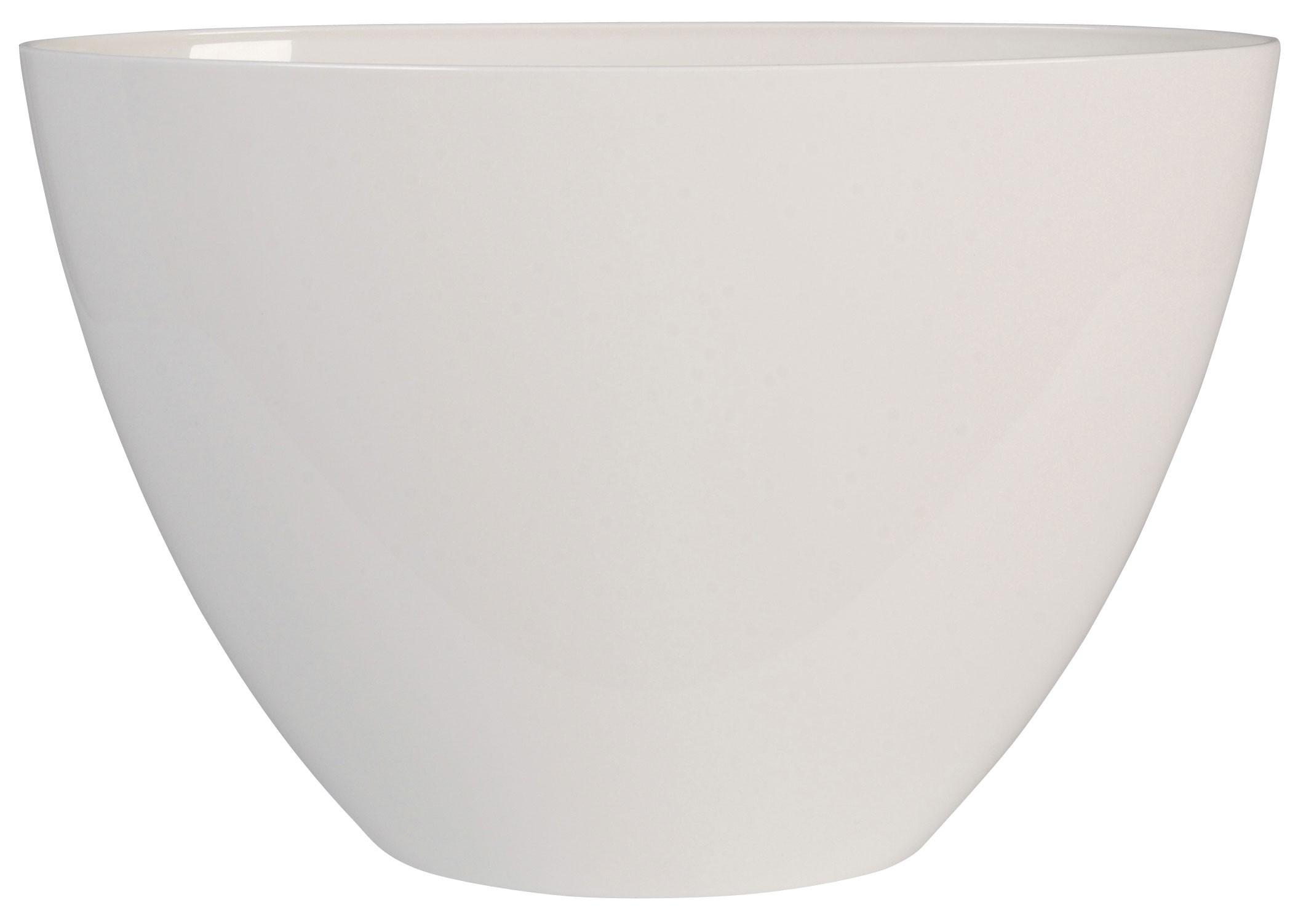 Blumentopf elho Brüssel Diamond oval High 36x18x23,5cm weiß Bild 1