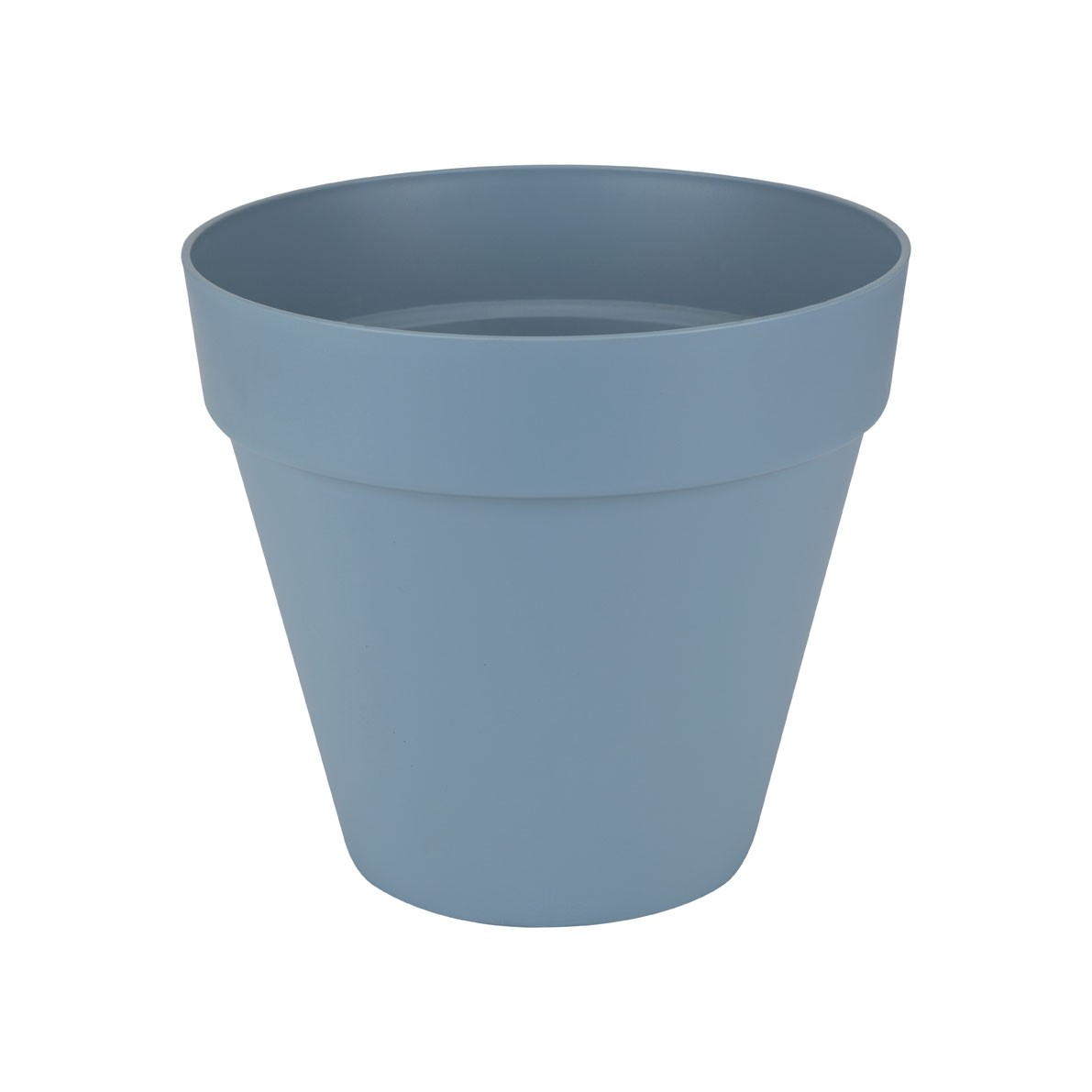 Pflanzgefäß / Pflanztopf elho Loft Urban Round Ø 30cm H 26cm blau Bild 1