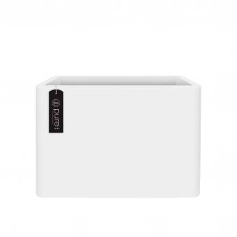 Pflanzkasten elho Pure Soft Brick Divider 79x30x59cm weiß Bild 1