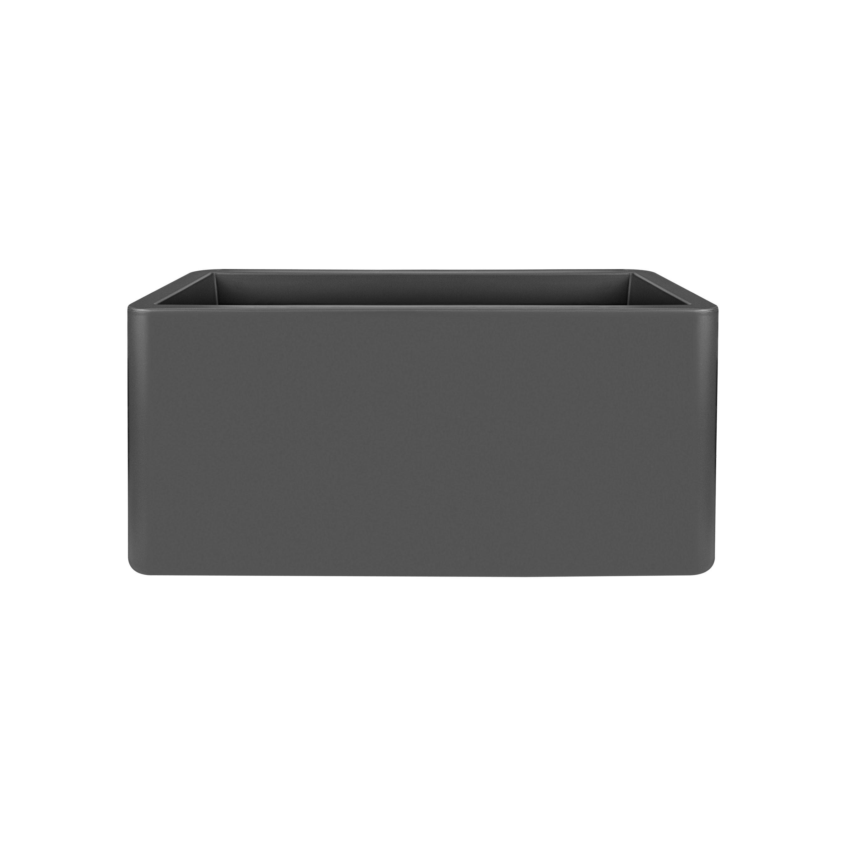Pflanzkasten elho Pure Soft Brick Long 80x39x39cm anthrazit Bild 1