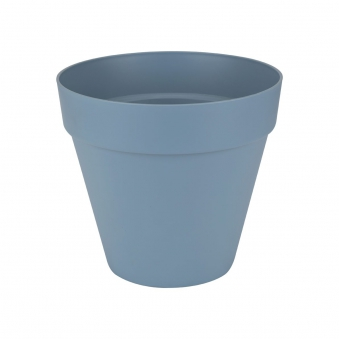 Pflanztopf elho Loft Urban Round fahrbar Ø 50cm H 44cm vintage blau Bild 1