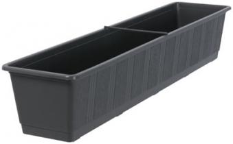 blumenkasten standard 80 cm anthrazit bei. Black Bedroom Furniture Sets. Home Design Ideas