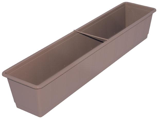 blumenkasten standard 80 cm taupe bei. Black Bedroom Furniture Sets. Home Design Ideas