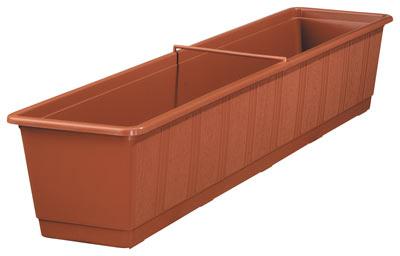blumenkasten standard 80 cm terracotta bei. Black Bedroom Furniture Sets. Home Design Ideas