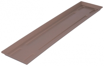 blumenkasten untersetzer standard 80 cm taupe bei. Black Bedroom Furniture Sets. Home Design Ideas