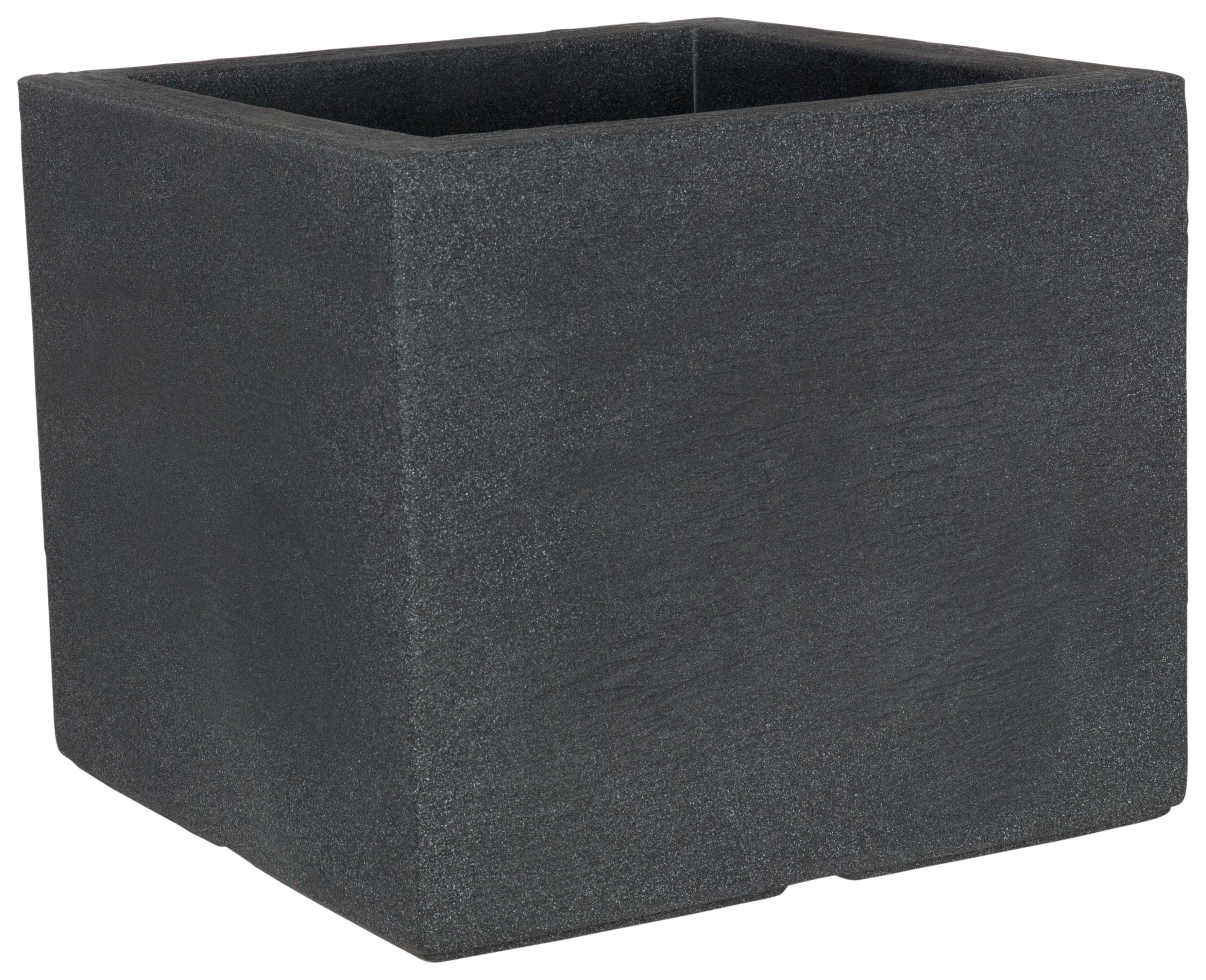 pflanzkasten pflanzgef kubus 40x40 anthrazit bei. Black Bedroom Furniture Sets. Home Design Ideas