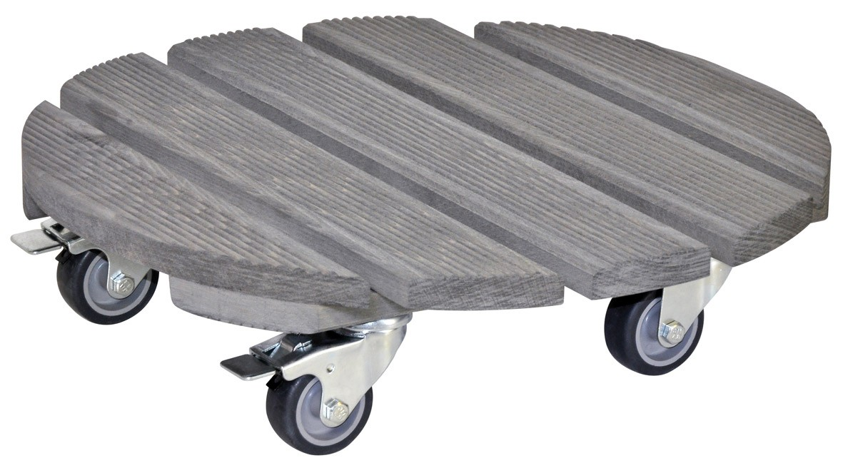 wagner pflanzenroller multi roller creo rund 38cm holz. Black Bedroom Furniture Sets. Home Design Ideas