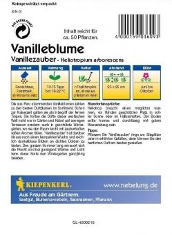 Saatgut Vanilleblume Vanillezauber Bild 2