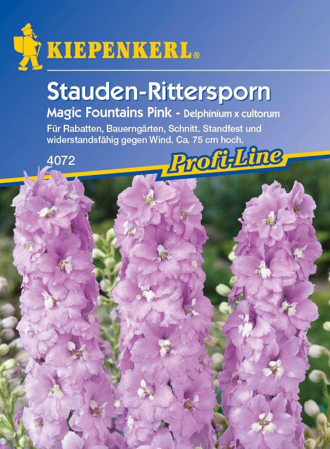 Saatgut Rittersporn, Stauden- Magic Fountains Pink Bild 1