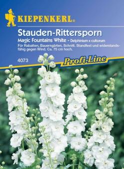 Saatgut Rittersporn, Stauden- Magic Fountains White Bild 1