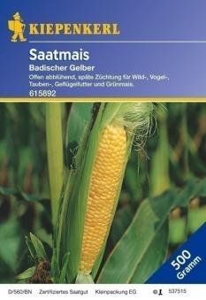 Futterpflanzen & Grünfutter für Heimtiere Badischer Saatmais, 500 g  Bild 1