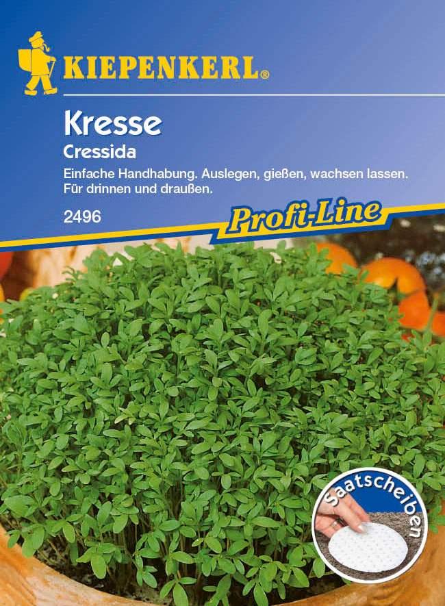 Gemüse Cressida, Saatscheiben Lepidium sativum Bild 1