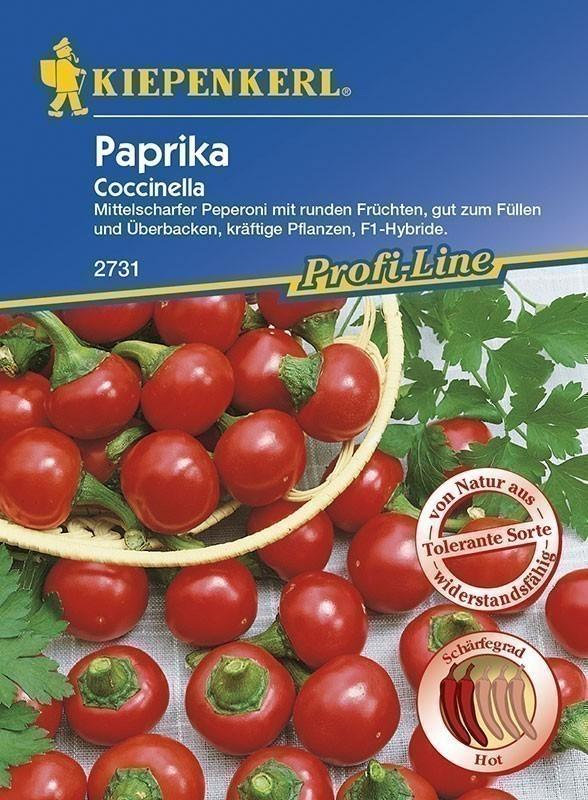 Kiepenkerl Saatgut Paprika Coccinella Bild 1