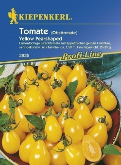 Kiepenkerl Saatgut Tomate Yellow Pearshaped Bild 1