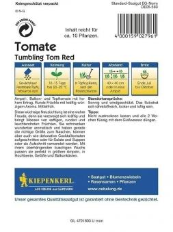 Kiepenkerl Saatgut Tomaten Tumbling Tom Red Bild 2