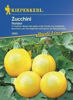 Kiepenkerl Saatgut Zucchini Floridor Bild 1