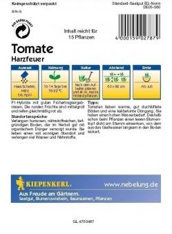 Saatgut Tomaten Harzfeuer F1 Bild 2