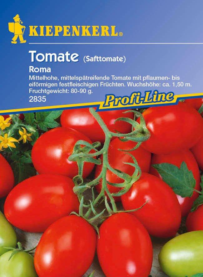 Saatgut Tomaten Roma Bild 1