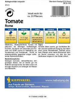 Saatgut Tomaten Roma Bild 2
