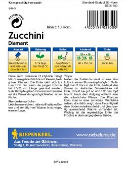 Saatgut Zucchini Diamant  Bild 2