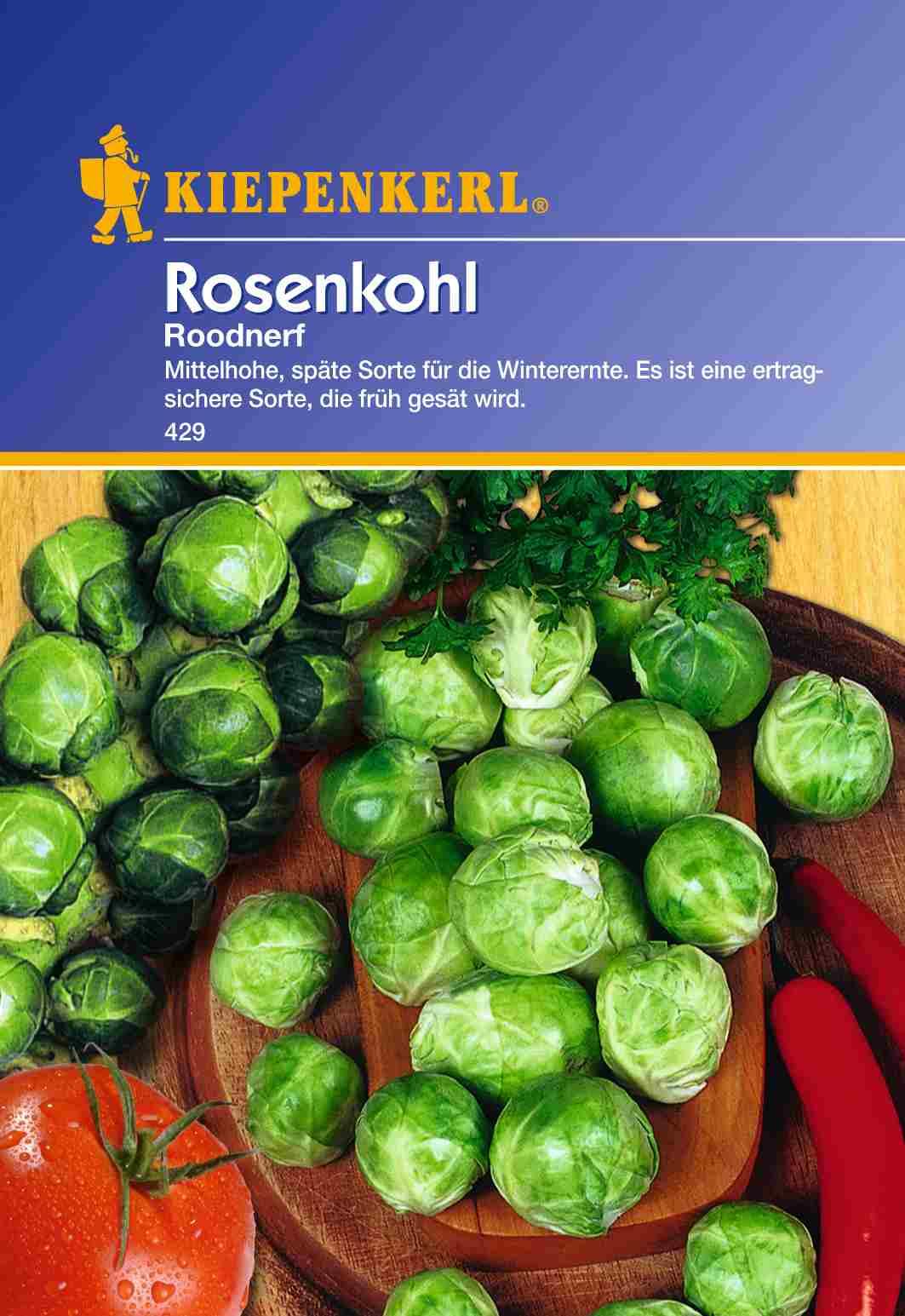 Saatgut Rosenkohl Roodnerf Bild 1