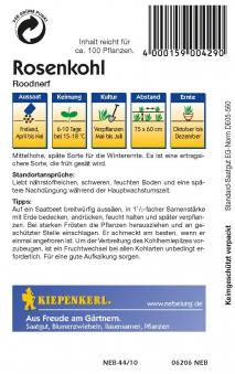 Saatgut Rosenkohl Roodnerf Bild 2