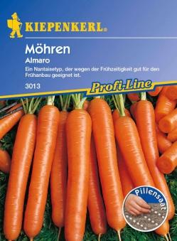 Saatgut Möhren/Karotten Almaro, Pillensaat Bild 1