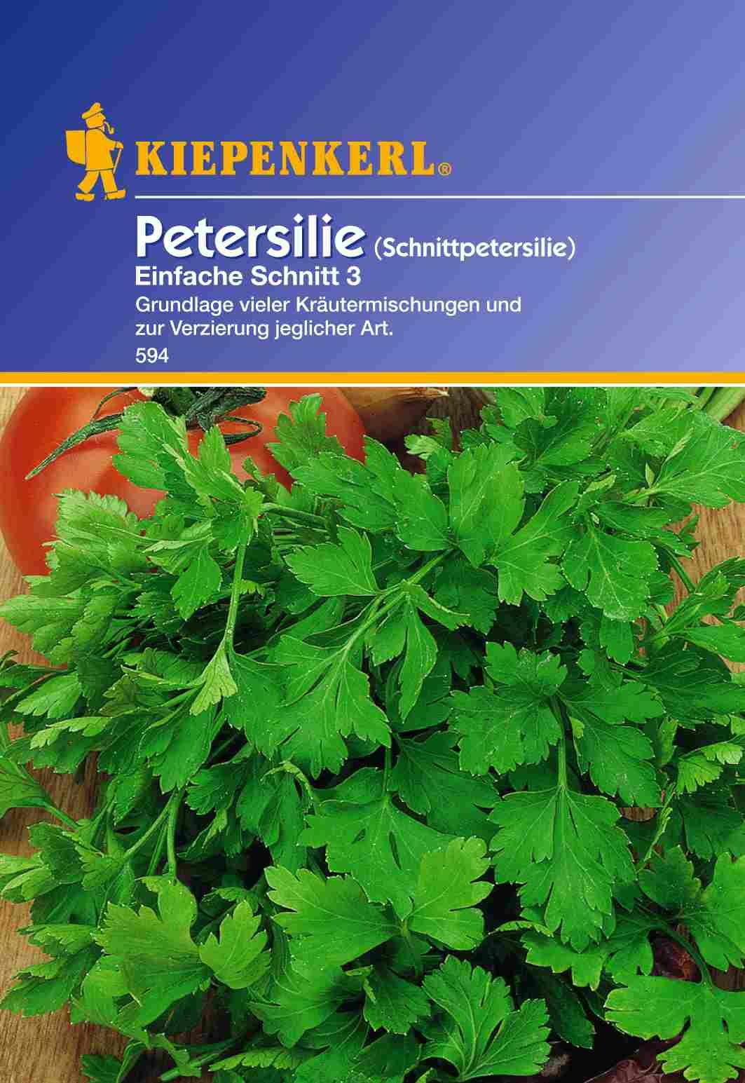 Saatgut Petersilie-Saatgut Einfache Schnitt 3 Bild 1