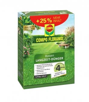 COMPO FLORANID Rasen-Langzeit Dünger 3,75kg für 150m² Bild 1