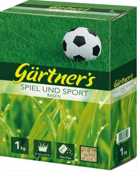 Spiel- u. Sportrasensamen2 kg, FS Gärtners Bild 1