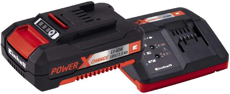 Einhell Power-X-Change Starter Kit Akku 18 V/1,5 Ah und Ladegerät Bild 1