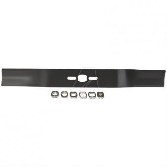 Ersatzmesser 53 cm Universal gekröpft für Motorrasenmäher Bild 1